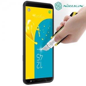Противоударное закаленное стекло на Samsung Galaxy J6 2018 SM-J600F Nillkin Amazing 9H