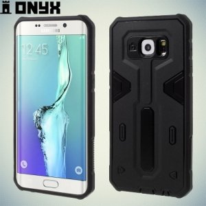 Противоударный чехол для Samsung Galaxy S6 Edge Plus - Черный