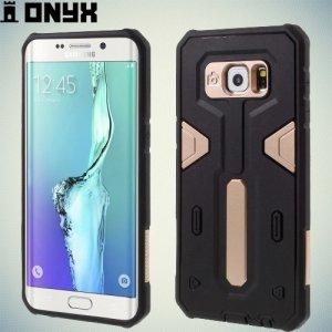Противоударный чехол для Samsung Galaxy S6 Edge Plus - Золотой