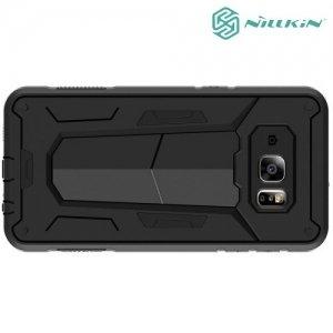 Противоударный чехол NILLKIN Defender II для Samsung Galaxy S6 edge Plus G928 - Черный