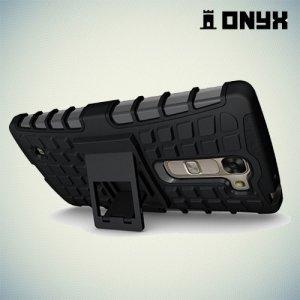 Противоударный чехол для LG G4c H522y ColorCase - Черный