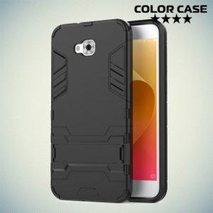 Противоударный гибридный чехол для Asus Zenfone 4 Selfie ZD553KL - Черный