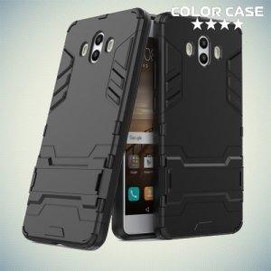 Противоударный гибридный чехол для Huawei Mate 10 - Черный