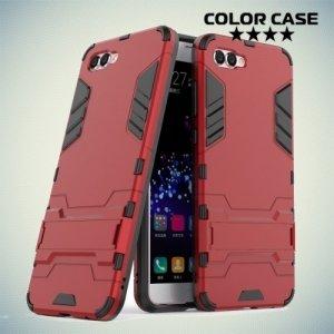 Противоударный гибридный чехол для Huawei Nova 2s - Красный