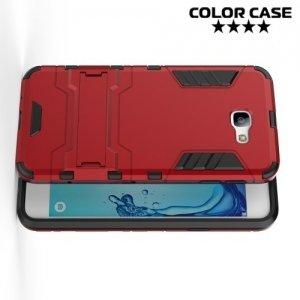 Противоударный гибридный чехол для Samsung Galaxy J5 Prime - Красный