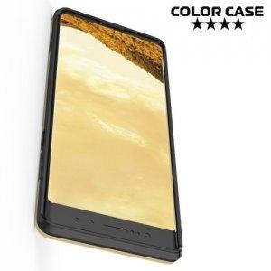 Противоударный гибридный чехол для Samsung Galaxy Note 8 - Золотой
