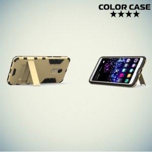 Противоударный гибридный чехол для Xiaomi Redmi 5 - Золотой