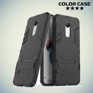 Противоударный гибридный чехол для Xiaomi Redmi 5 Plus - Черный