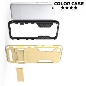 Противоударный гибридный чехол для Xiaomi Redmi 5a - Красный
