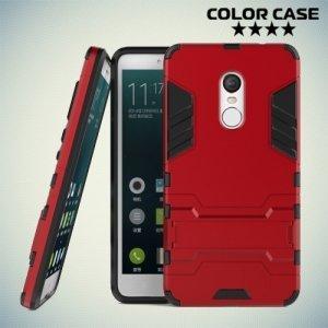 Противоударный гибридный чехол для Xiaomi Redmi Note 4 / 4X - Красный