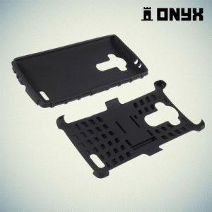 Противоударный защитный чехол для LG G4 - черный
