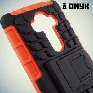 Противоударный защитный чехол для LG G4 - оранжевый