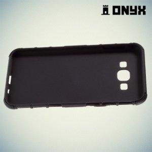 Противоударный защитный чехол для Samsung Galaxy A8 - черный
