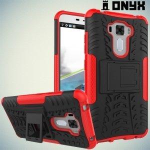 Противоударный защитный чехол для Asus Zenfone 3 Laser ZC551KL - Красный