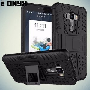 Противоударный защитный чехол для Asus Zenfone 3 ZE552KL - Черный
