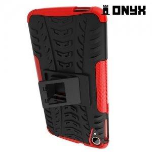 Противоударный защитный чехол для HTC Desire 828 - Красный