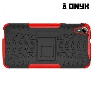 Противоударный защитный чехол для HTC Desire 828 - Черный