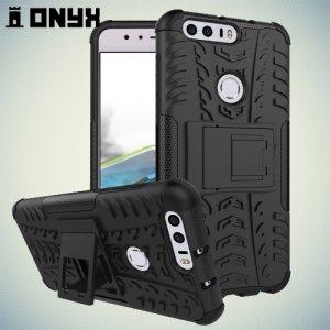 Противоударный защитный чехол для Huawei Honor 8 - Черный