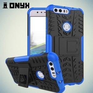 Противоударный защитный чехол для Huawei Honor 8 - Синий
