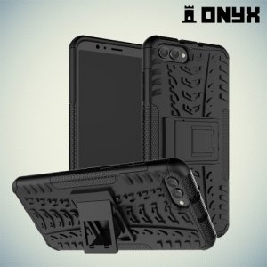 Противоударный защитный чехол для Huawei Honor View 10 (V10) - Черный