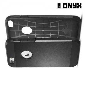 Противоударный защитный чехол для iPhone 6S / 6  - Черный