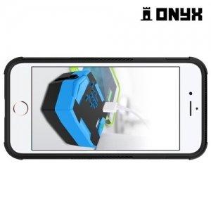 Противоударный защитный чехол для iPhone 8/7 - Черный