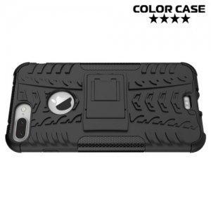 Противоударный защитный чехол для iPhone 8 Plus / 7 Plus - Черный