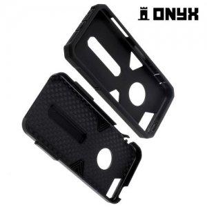 Противоударный защитный чехол для iPhone SE - Черный