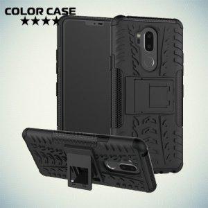 Противоударный защитный чехол для LG G7 ThinQ - Черный