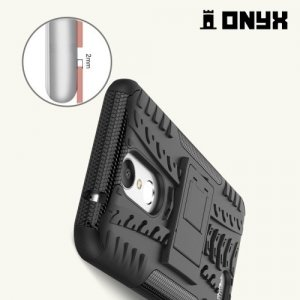 Противоударный защитный чехол для LG K10 2017 M250 - Черный