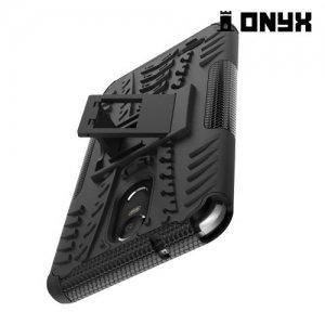 Противоударный защитный чехол для LG Stylus 3 M400DY - Черный