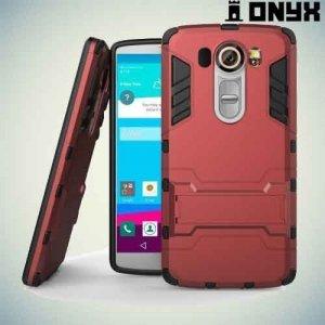 Противоударный защитный чехол для LG V10 - Красный