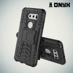 Противоударный защитный чехол для LG V30 / V30+ - Черный