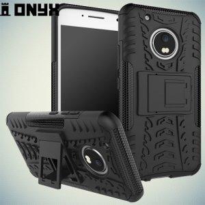 Противоударный защитный чехол для Moto G5 Plus - Черный