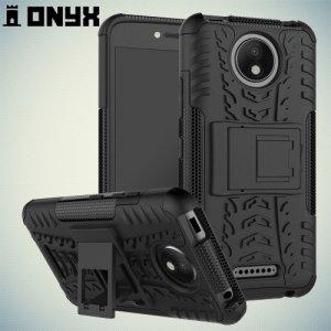 Противоударный защитный чехол для Motorola Moto C Plus - Черный