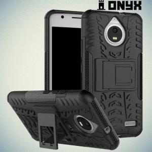 Противоударный защитный чехол для Motorola Moto E4 - Черный