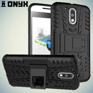 Противоударный защитный чехол для Motorola Moto G4 / G4 Plus - Черный