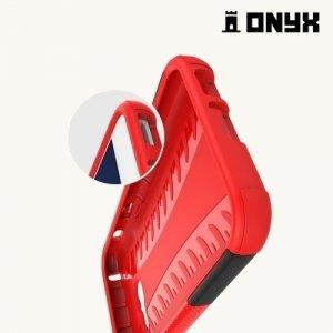 Противоударный защитный чехол для Samsung Galaxy A3 2017 SM-A320F - Красный