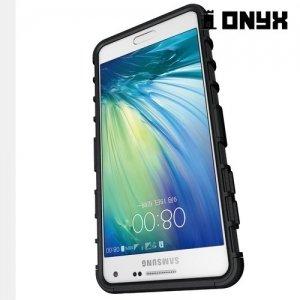 Противоударный защитный чехол для Samsung Galaxy A5 2016 SM-A510F - Черный