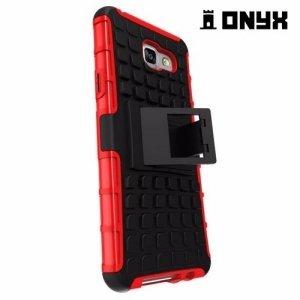 Противоударный защитный чехол для Samsung Galaxy A5 2016 SM-A510F - Красный