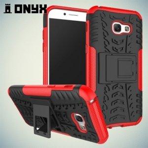 Противоударный защитный чехол для Samsung Galaxy A5 2017 SM-A520F - Красный