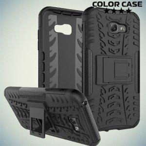 Противоударный защитный чехол для Samsung Galaxy A7 2017 SM-A720F - Черный