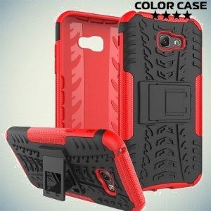 Противоударный защитный чехол для Samsung Galaxy A7 2017 SM-A720F - Красный