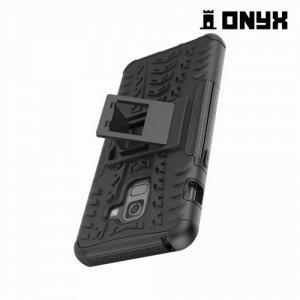 Противоударный защитный чехол для Samsung Galaxy A8 2018 - Черный