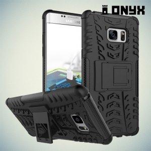 Противоударный защитный чехол для Samsung Galaxy Note 7  - Черный
