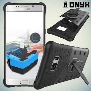 Противоударный защитный чехол для Samsung Galaxy Note 7 - Серый