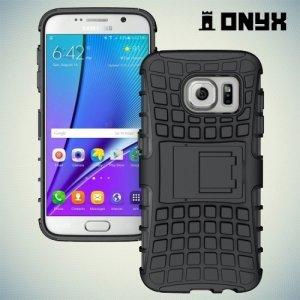 Противоударный защитный чехол для Samsung Galaxy S7 - Черный