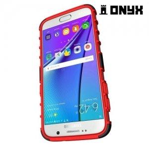 Противоударный защитный чехол для Samsung Galaxy S7 - Красный