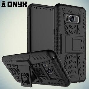 Противоударный защитный чехол для Samsung Galaxy S8 - Черный