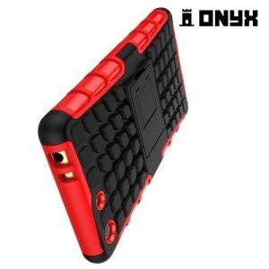 Противоударный защитный чехол для Sony Xperia M5 - Черный